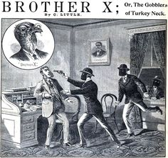 """""""Brother X,"""" from Happy Days, A Paper For Young And Old, 1900."""