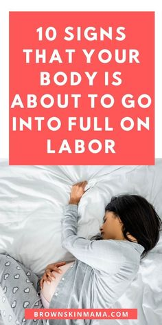Not sure when to expect labor? These top 10 tips will show you some early signs of labor that you can expect to see in your third trimester of pregnancy All About Pregnancy, Pregnancy Labor, Trimesters Of Pregnancy, Labor Signs And Symptoms, Signs Of Labour, Baby Information, Advice For New Moms, Pregnancy Problems, Preparing For Baby