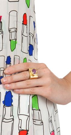 Surreal road ring available only at Pernia's Pop-Up Shop.