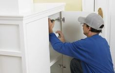 Easily upgrade cabinets with these adjustable, disguised hinges
