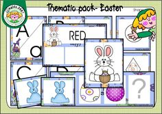 Free Easter thematic pack