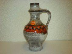 Vase JASBA WGP Mid Century 60s 70s Keramik N106 1321 **