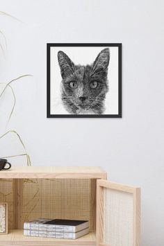 Cat lover gift, Custom cat portrait, Drawing From Photo, Dog lover gift, Step mom gift, Godmother gift, Sympathy gift, Gift for mom #catlovers #sympathygift #gifts #cats #wallart #walldecor #homedecor #drawing #sketching #art #pets >< #%   >< Lovers Art, Cat Lovers, Gifts For Nan, Godmother Gifts, Wall Art For Sale, Sympathy Gifts, Cat Lover Gifts, Original Artwork, Portrait