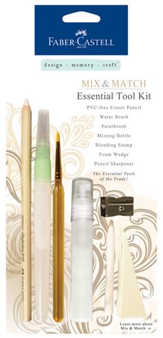 Faber-Castell+-+Mix+and+Match+Collection+-+Essential+Tool+Kit+-+7+Piece+Set+at+Scrapbook.com