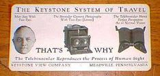 The Keystone System of Travel  THAT'S WHY  Telebinocular viewing system #stereo #sight #viewer #vision #3d #stereoscopy #stereographic #victorian #pennsylvania #antique