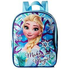 Preschool Backpack for Girls Frozen Elsa Toddler 10 inch Mini Back to  School NEW  PreschoolBackpack 832378c422