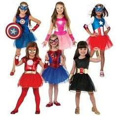 Superhero Tutu Dress Costume Marvel Universe Halloween Fancy Dress $22.59 $44.89 (62 Available) End Date Nov 012016 0759 AM GMT-0700  sc 1 st  Pinterest & Girls superhero fancy dress costume kids | ??????? ???????? ...