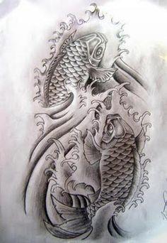 Water Tattoo japanese | Beautiful Tattoos: 25+ Ravishing Small Tattoos On Back For Girls
