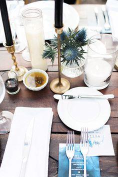 Seating Ideas Farm Table Wedding, Wedding Book, Wedding Reception, Reception Ideas, Dream Wedding, Blue And White Dinnerware, Letterpress Save The Dates, Pineapple Margarita, Cedar Lake