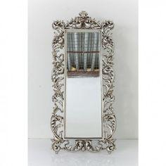 espejo Sun King rectangular plata