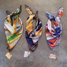 """Spring trio: our """"Ihlosi"""" silk scarf collection❤️"""