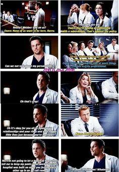 Grey's Anatomy - Love Alex. everytime!!
