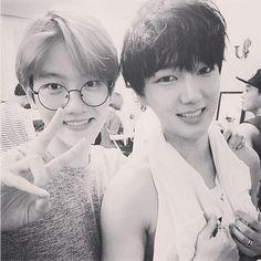 Baekhyun with Yesung ❤