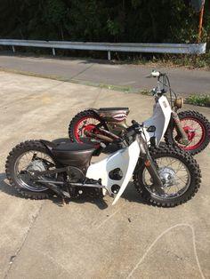 カブチョッパー cubchopper Custom Moped, Custom Bikes, Moto Bike, Motorcycle Bike, Honda Scooters, Custom Street Bikes, Honda Cub, Moped Scooter, Moto Style