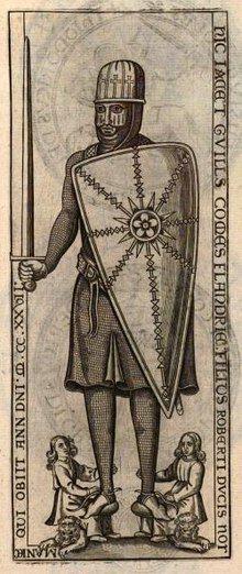 Représentation de Guillaume Cliton au XVIIesiècle