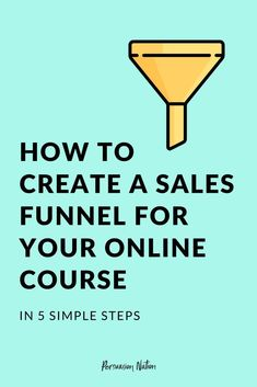 Want to sell your online course on autopilot? Having a sales funnel in place allows you to literally make money while you sleep. In this post, we'll share 5 steps to create a sales funnel for your online course. Digital Marketing Strategy, Content Marketing, Affiliate Marketing, Online Marketing, Marketing Strategies, Internet Marketing, Sales Strategy, Marketing Plan, Business Marketing