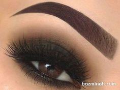 schwarze haut 36 ideas for hair black highlights eyebrows Eyeliner, Eyebrows, Smokey Eyeshadow, Smokey Eye Makeup, Eyeshadow Makeup, Eyelashes, Bronze Smokey Eye, Blue Smokey Eye, Natural Smokey Eye