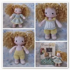 Free SimplyAmi doll design and clothes Beth Ann Webber at By Hook, By Hand