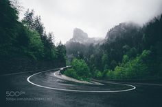 Twist by trees sky forest mountains clouds road green roads mountain romania serpentine lacul rosu bicaz bica Forest Mountain, Popular Photography, Photos Of The Week, Landscape Photography, Travel Photography, Travel Photos, Tourism, Country Roads, Sky