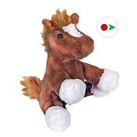 Recordable Teddy Bear Walmart, Record Your Own Plush 8 Inch Horse Ready 2 Love In A Few Easy Steps Bear Stuffed Animal Animals Animal Plush Toys