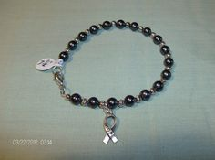 71/2 inch I Support Melanoma Cancer Awareness by OneOfAKindJwlry, $20.00
