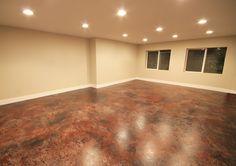 painting a concrete floor for basement studio