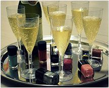 Come try our brand new nail bar, and enjoy complimentary wine or champagne!