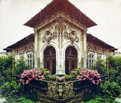 Romanian architecture uploaded by Manuela Micu Bucharest, Old Houses, Villa, Landscape, House Styles, Wallpaper, Condominium, Case, Photography