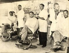 Barbershops are extremely important to the African-American community. It was one of the first true respectably professions to open up for black men who quickly established their own shops since they were not allowed in shops with white clientele. By the early 18th century, barbershops, were the centers of the various black communities whether free or slave. Black men not only congregated at the barbershop, they did almost everything there.
