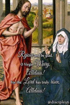 Rejoice And Be Glad, Easter Season, He Is Risen, Holy Week, God Jesus, Lent, Virgin Mary, Blessings, Catholic