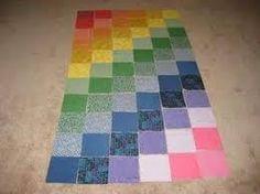 Resultado de imagem para tapetes de retalhos