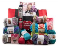 Enter to win $150 yarn assortment from Red Heart Yarn + discover a free knit vest pattern! Contest ends 10/14/13.