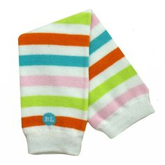BabyLegs organic cotton legwarmers in Janelle - pink, orange, lime green and turquoise blue stripes Diaper Bag Essentials, Used Cloth Diapers, Baby Leg Warmers, Baby Couture, Baby Registry, Blue Stripes, Organic Cotton, Baby Kids, Orange