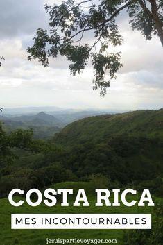 Mes incontournables du Costa Rica sont nombreux, que faire, que voir dans ce pays magique d'Amerique centrale ?
