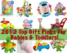 Top gift ideas for babies & toddlers!