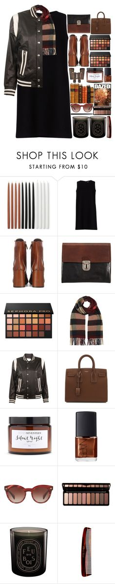"""""""6336"""" by tiffanyelinor ❤ liked on Polyvore featuring Williams-Sonoma, Gianluca Capannolo, Prada, Marni, Sephora Collection, Burberry, IRO, Yves Saint Laurent, Silent Night and NARS Cosmetics"""