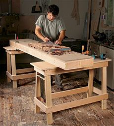 Preview - Forget What You Know About Workbenches - Fine Woodworking Article