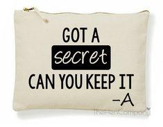 Pretty Little Liars Make-Up Bag Got A Secret by TheHenCompany