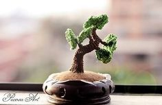 Bonsai (盆栽) amigurumi #crochet #crocheting #amigurumi #weamiguru #yarn #yarnaddict #crochetlover #toy #softie #bonsai #japon #oriental #盆栽 #crochetaddict #tejidoamano #tejido #ganchillo #algodon #tree #plant #traditional #art #craft #handmade #pecosaart