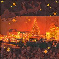2016 Servilleta decorada Navidad