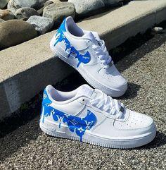 buy online 2c1d7 0e9f4 NEW Women s Nike Air Force 1 LV Supreme Drip Sneakers Zapatos Nike, Calzado  Nike,