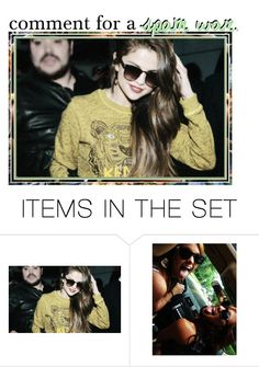 """""""Comment for a spam war????"""" by daltonsprincess ❤ liked on Polyvore featuring art"""
