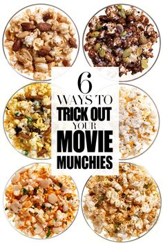 Pop stars! Up your snacking game. http://www.redbookmag.com/recipes-home/tips-advice/flavored-popcorn-recipes