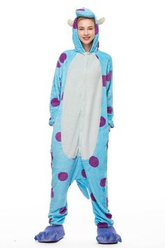 Chicloth Blue Cattle Sullivan Onesie Adult Pajamas a74a10da4