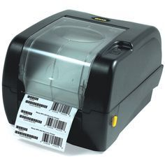 Wasp Thermal Label Printer - Monochrome - 5 in/s Mono - 203 dpi - USB, Serial, Parallel 633808402006 Barcode Labels, Desktop Design, Thermal Labels, Thermal Printer, Thing 1, Printer Scanner, Printing Labels, Wasp