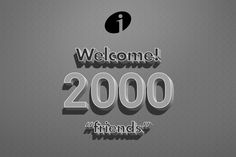 We are 2000 friends on #Facebook. Welcome!