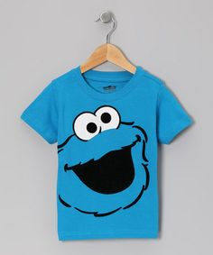 Another great find on #zulily! Blue Cookie Monster Face Tee - Infant & Toddler #zulilyfinds
