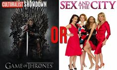 It's an HBO showdown!  Retweet for Game of Thrones Favorite for Sex and the City  *You can do both, of course*