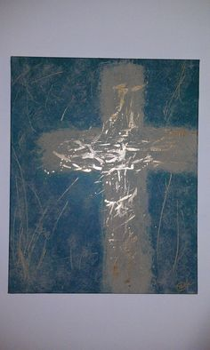 20x16 Acrylic abstract Praise