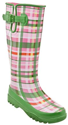 I think you need some rain boots